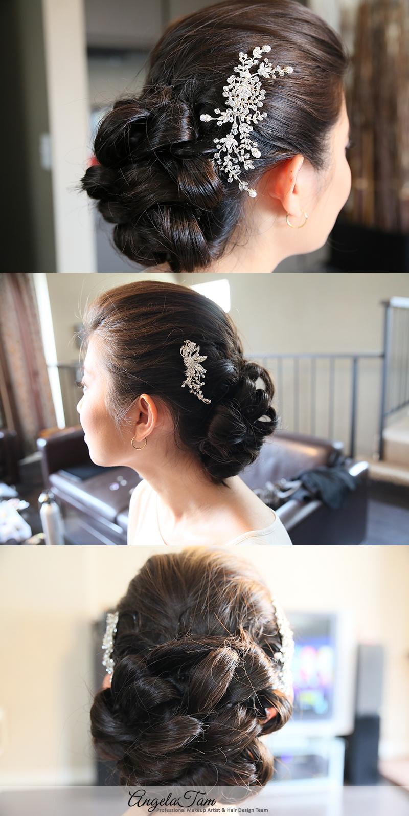 San Diego Wedding Asian Bridal Makeup Artist And Hair Stylist
