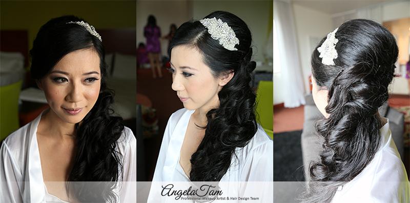 Langham Huntington Pasadena Wedding Olivia Asian Bride Makeup